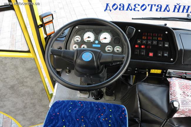 Презентация автобуса корпорации «Эталон»