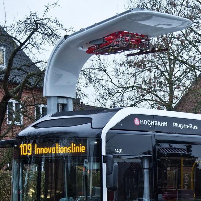 Гибридный электробус Volvo 7900 Electric Bus