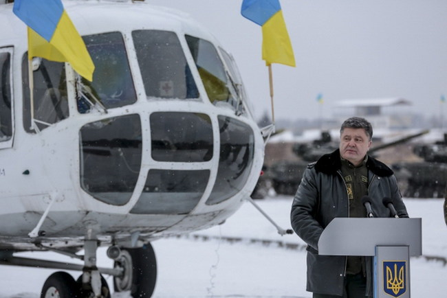 Передача военной техники для ВС Украины