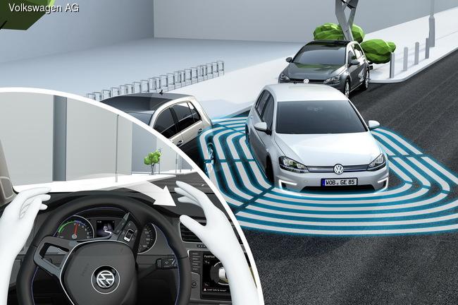 Volkswagen показал в Лас-Вегасе новый Golf
