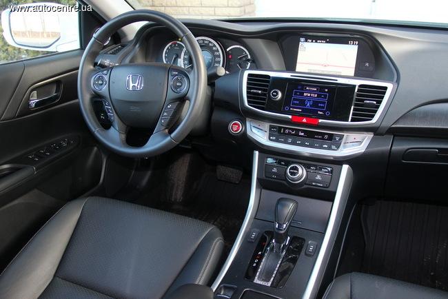 тест-драйв Honda Accord 2.4 образца 2015 года