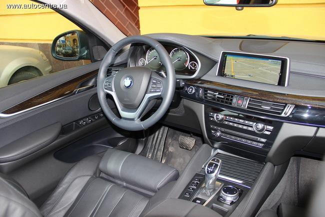 тест-драйв BMW X6 xDrive30d (F16)