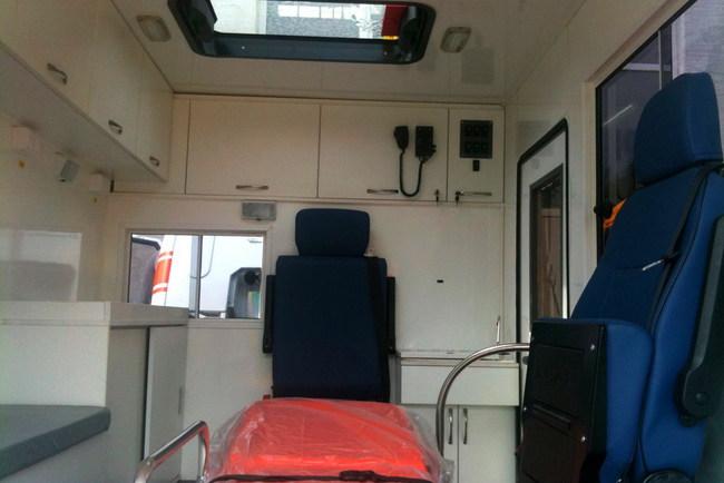 Презентация автомобиля скорой помощи «Электрон»
