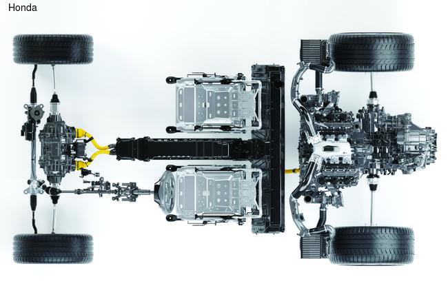 Honda возродила NSX