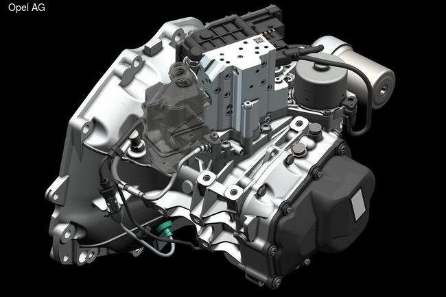 Adam получил роботизированную КП Easytronic 3.0 третьего поколения