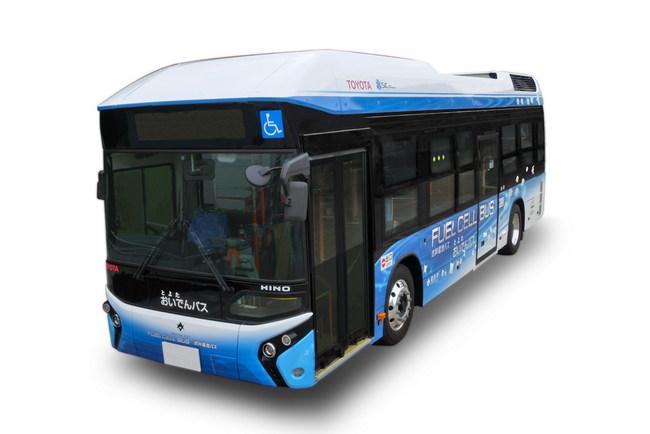Водородный автобус Toyota