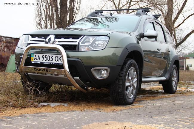 Новый Duster приехал в Украину