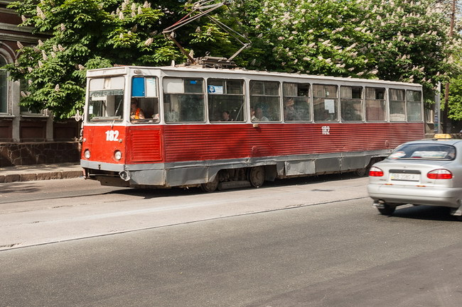 Коммунальный транспорт Луганска