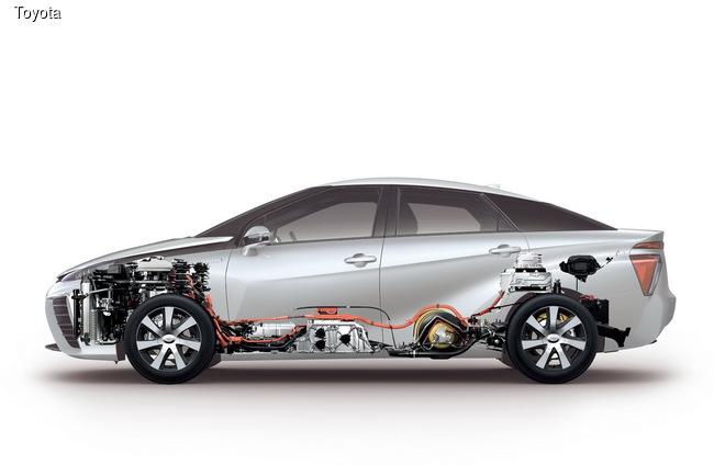 Водородный седан Toyota Mirai набирает популярность
