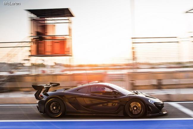 McLaren устроит презентацию P1 GTR в Женеве