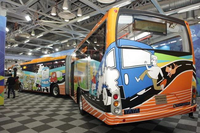 Школьный автобус Tata Ultra