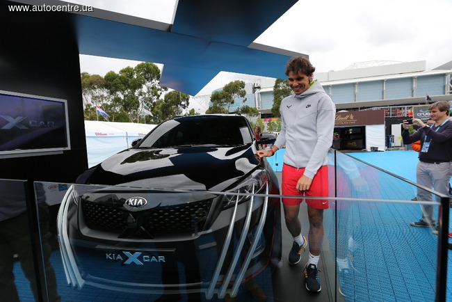 KIA стал партнером теннисного турнира Australian Open 2015