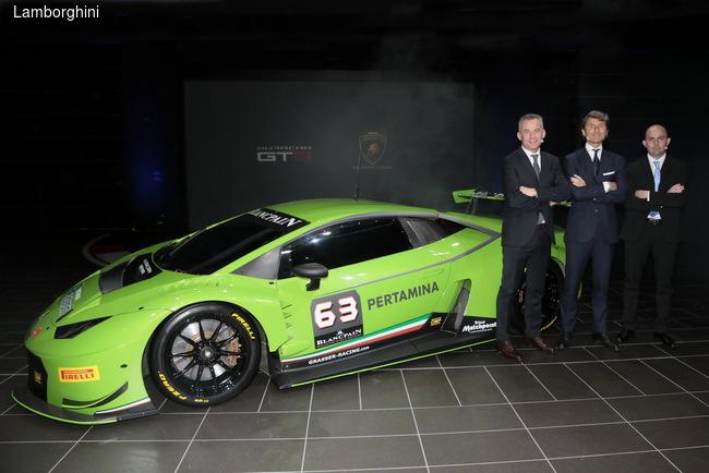 Lamborghini презентовала гоночный болид для гонок на выносливость