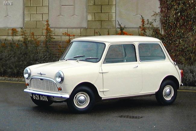 Под именем Morris Mini-Minor выпускалась «классическая» версия хэтчбека MINI, созданная сэром Алеком Иссигонисом в 1959 году.