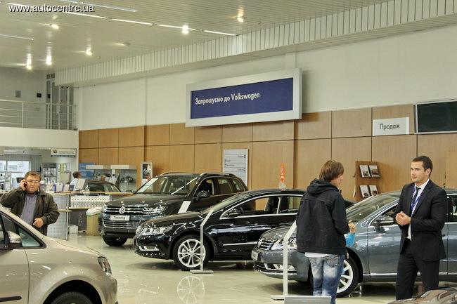 «Атлант-М Днепровская набережная» - лидер продаж автомобилей VW в Украине