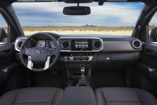 Пикап Toyota Tacoma 2016 модельного года