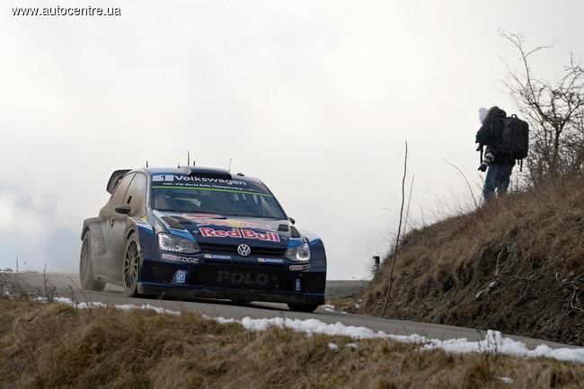 Ралли Монте-Карло: Пилоты VW принесли тотальную победу для команды
