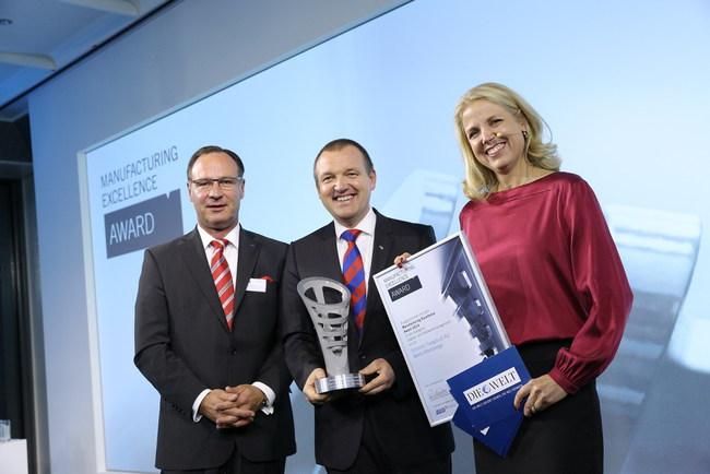 Второй раз подряд компания Schmitz Cargobull награждается почетной премией «MX Award»