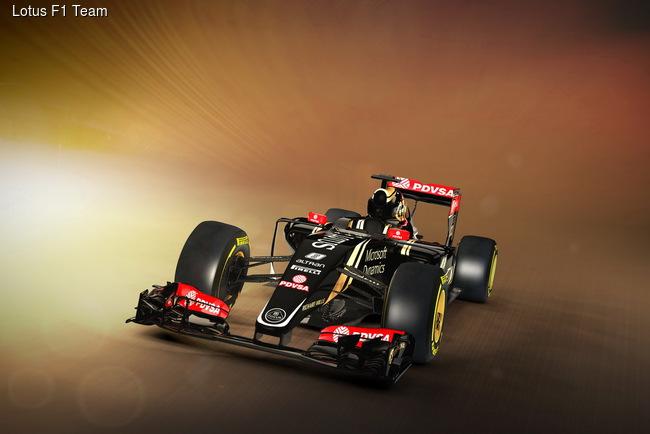 Lotus F1 Team презентовал болид для нового сезона
