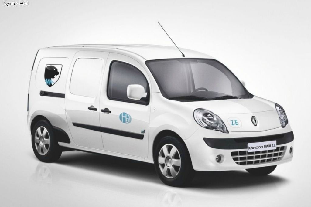 Renault Kangoo перешел на водород