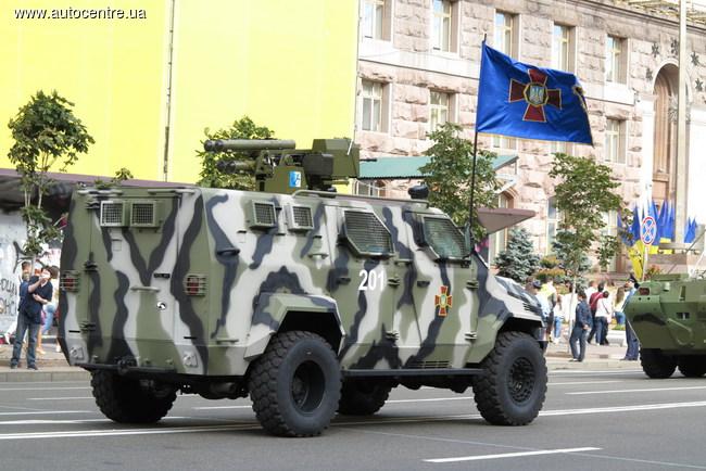 Бронеавтомобили КрАЗ-«Спартан»