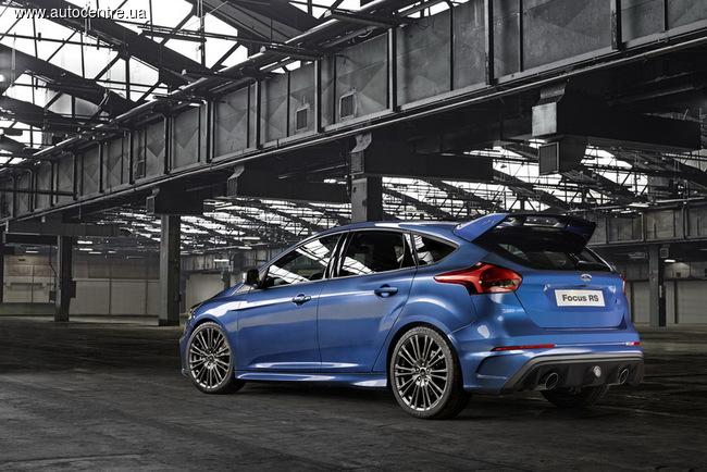 новый Ford Focus RS