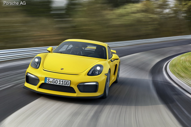 Женевский автосалон: Porsche взялся за Cayman