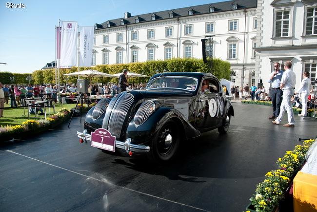 SKODA Popular Monte Carlo Coupe образца 1937 года получил престижный приз конкурса Concours d´Elegance Schloss Bensberg Classic в 2012 году