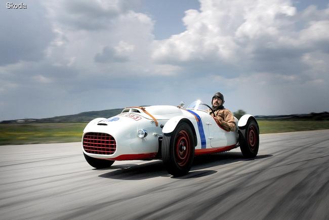SKODA Supersport type 966 создали в 1950 году