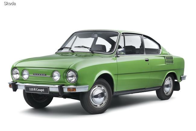 Любители спортивных моделей 70-х годом могли оценить купе SKODA 110 R Coupe