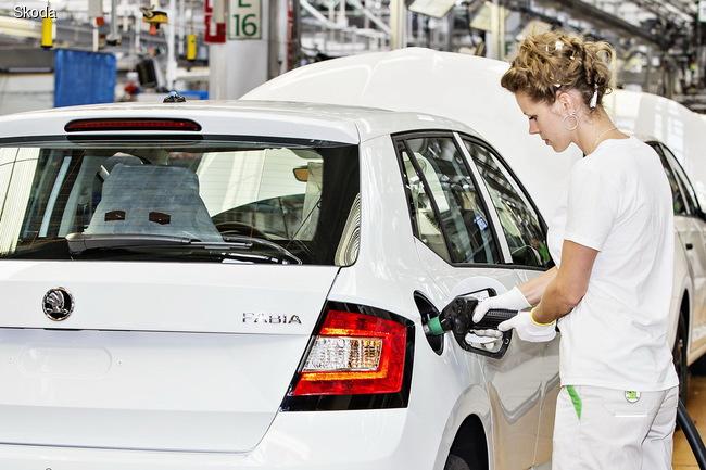 SKODA произвела 17-миллионный автомобиль