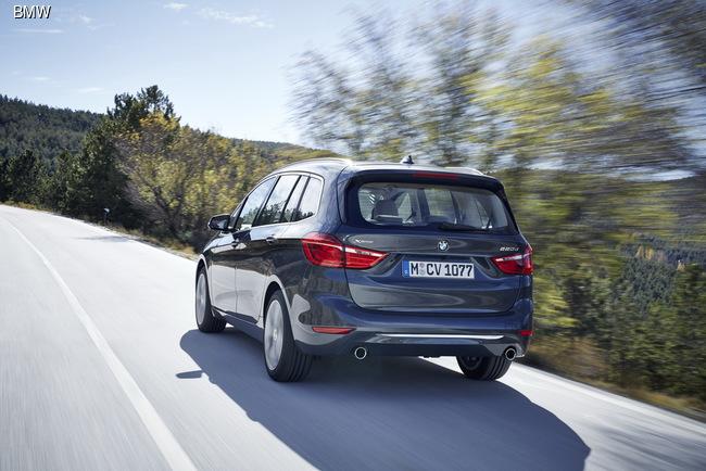 Женевский автосалон 2015: BMW серьезно занялась компактвенами