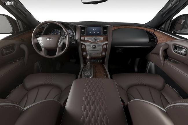 Infiniti привезла в Чикаго эксклюзивный SUV QX80 Limited Package