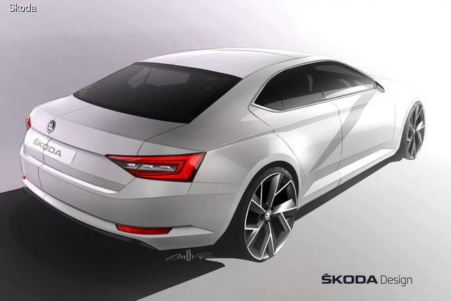 Новая Skoda Superb – фрагменты