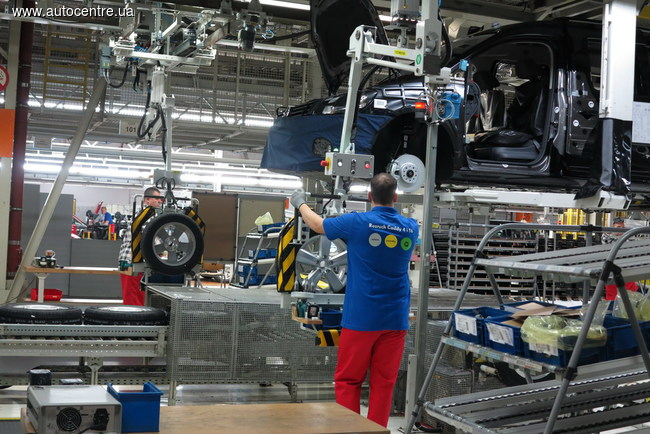 Предприятие Volkswagen в польском городе Познань