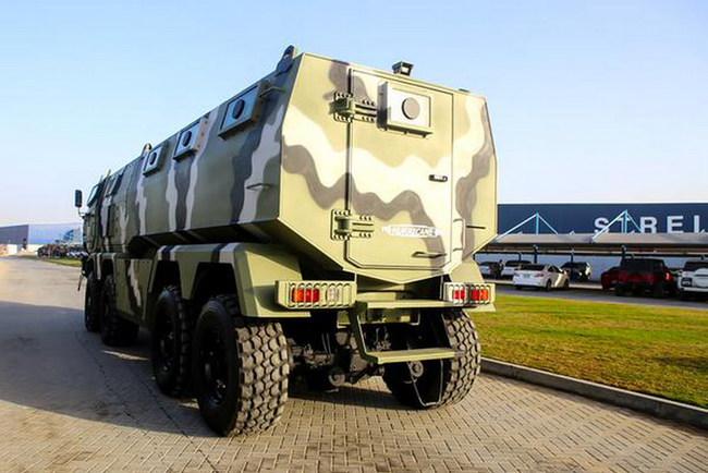Новые бронеавтомобили КрАЗ