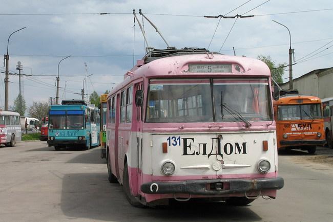 Троллейбусы в Тернополе