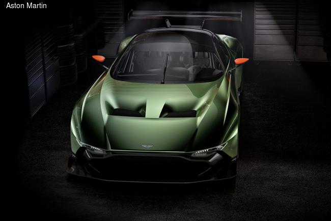 Женевский автосалон 2015: Aston Martin разбудил вулкан