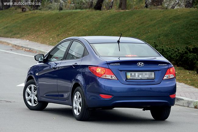 Тест-драйв Hyundai Accent