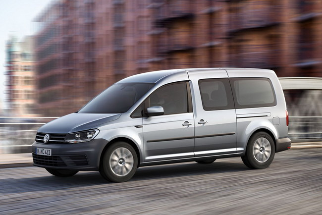 Новый Volkswagen Caddy Maxi
