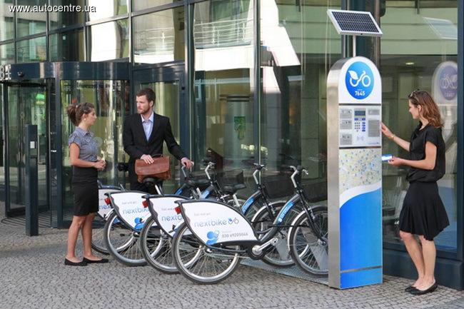 Сервис проката велосипедов