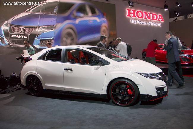 Женевский автосалон 2015: Honda презентовала Civic Type R
