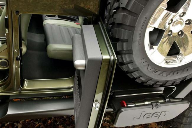 Концептуальный пикап Jeep Gladiator