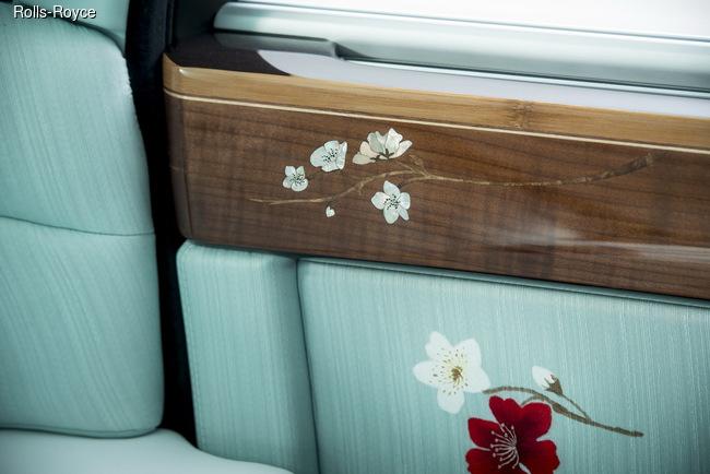 Женевский автосалон 2015: Rolls-Royce Phantom Serenity – дух безмятежности