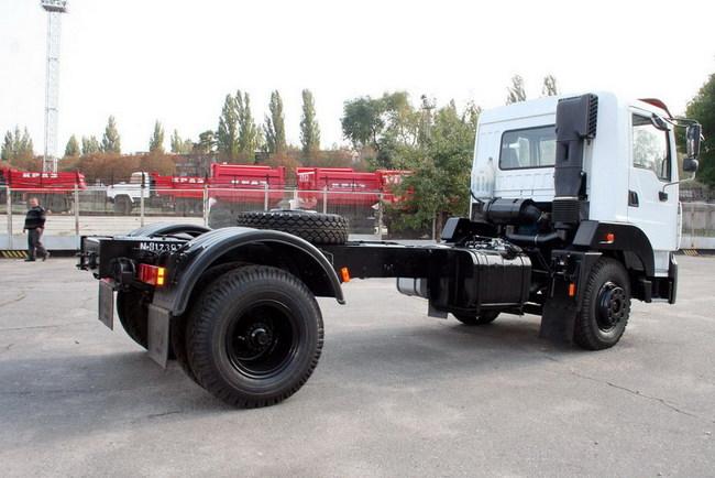 Шасси КрАЗ-5401Н2
