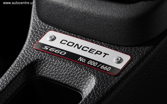 спортивный родстераHonda S660