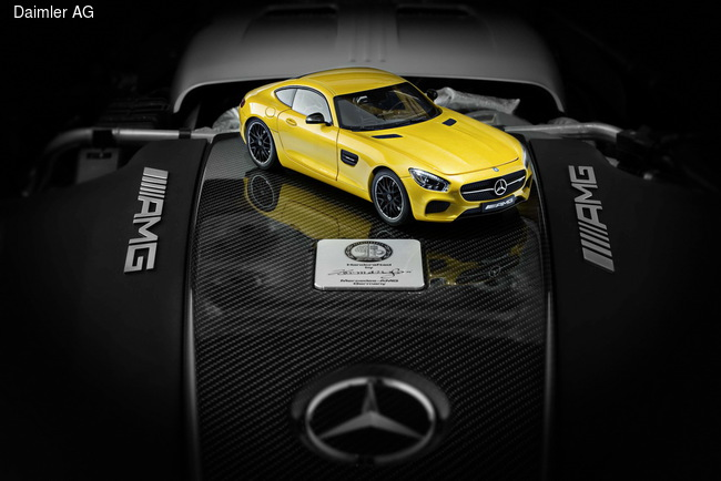 Mercedes-AMG GT отправится на полку