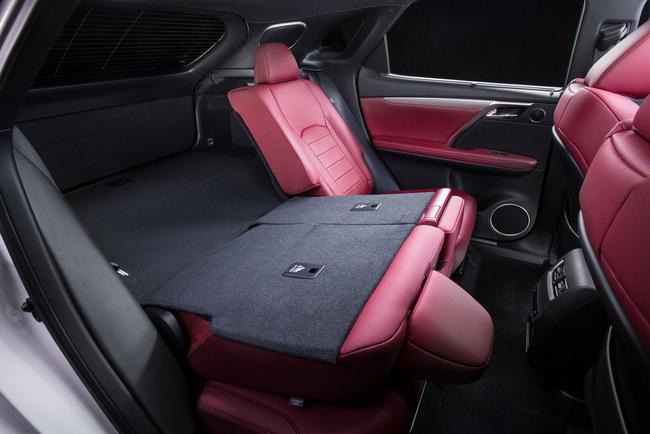 Lexus RX 2016 модельного года