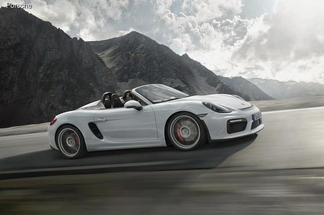 Porsche построил новый Boxter Spyder