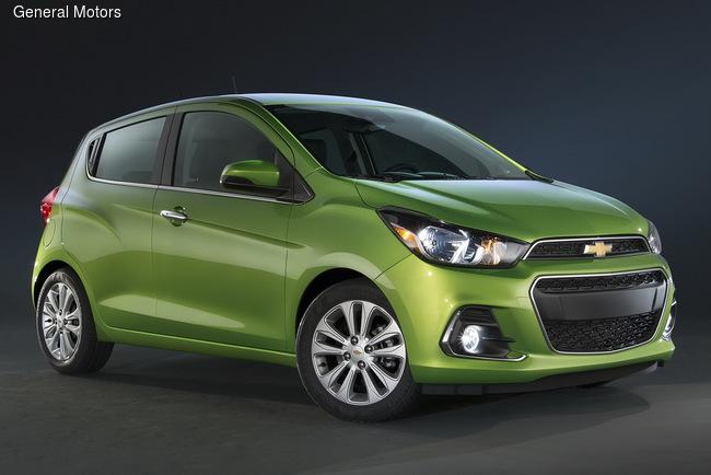 Chevrolet презентовал хэтчбек Spark нового поколения